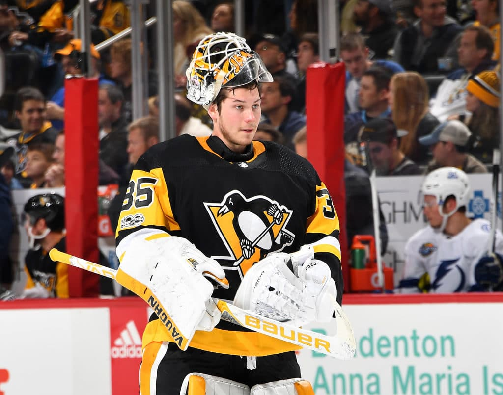 Penguins recall Smith with G Murray ailing