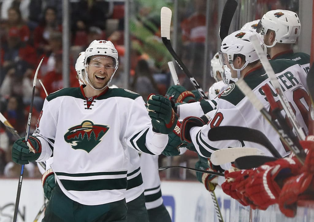 Wild claims Nate Prosser off waivers from Blues