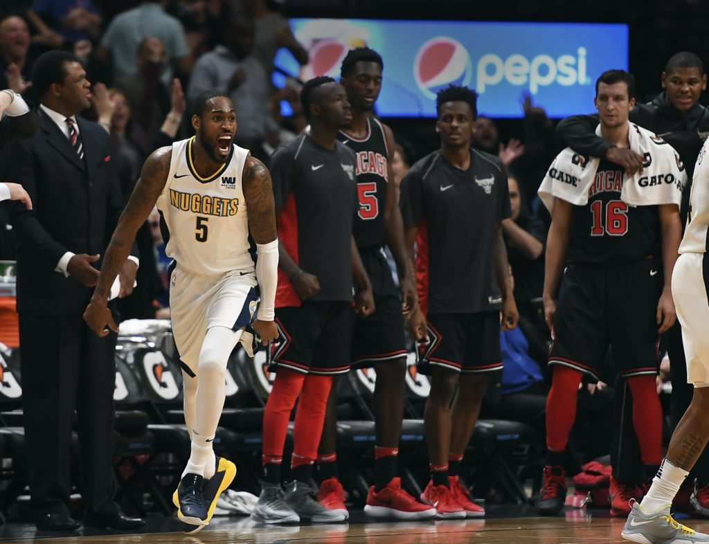 Barton's Layup In Waning Seconds Lifts Nuggets Past Bulls, 111-110