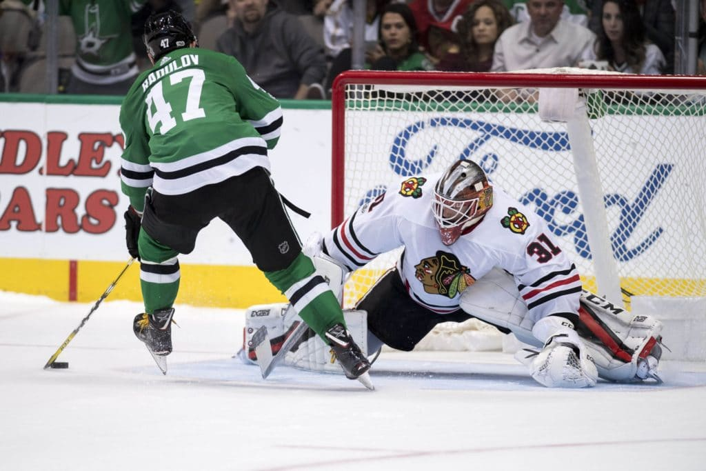 Blackhawks Place Corey Crawford On Injured Reserve