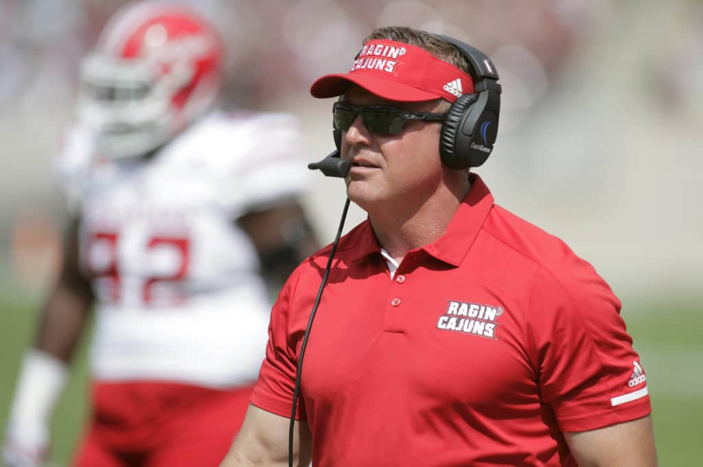 Mark Hudspeth fired as Louisiana-Lafayette head coach, per report
