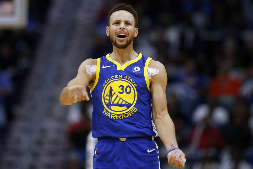 Curry injury fear as Warriors comeback stuns Pelicans