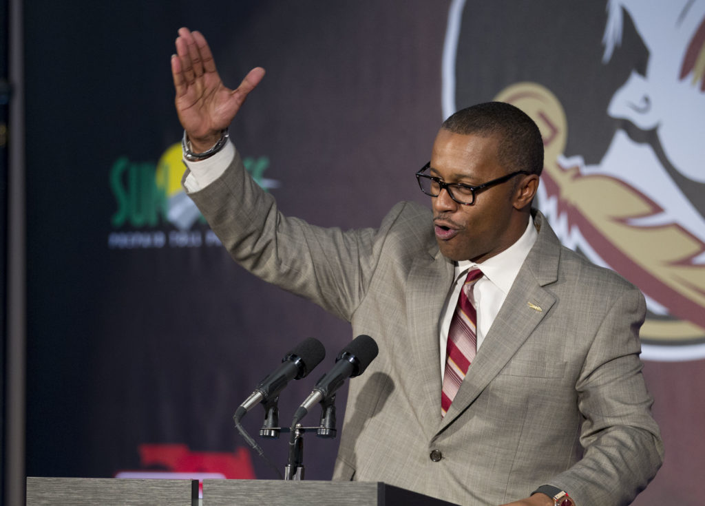 Florida State introduces Willie Taggart as new head coach