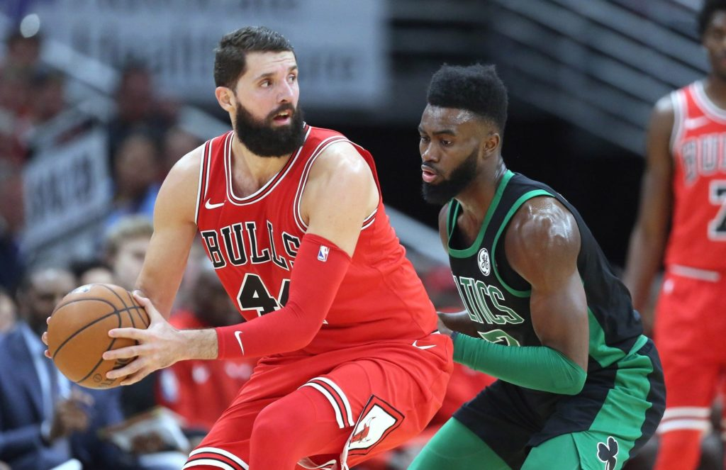 Nikola Mirotic's message to Bulls fans after win over Celtics