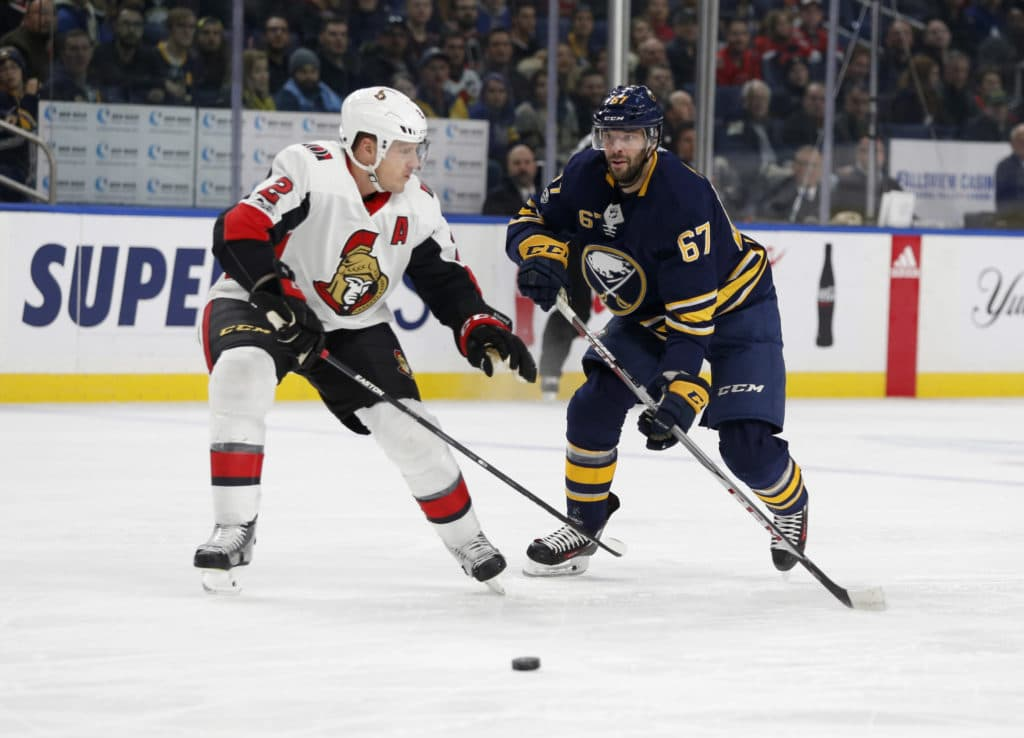 Sabres beat Senators 3-2 with solid second period