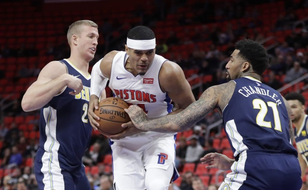 Nuggets defeat Pistons as Detroit's losing streak hits 7 games