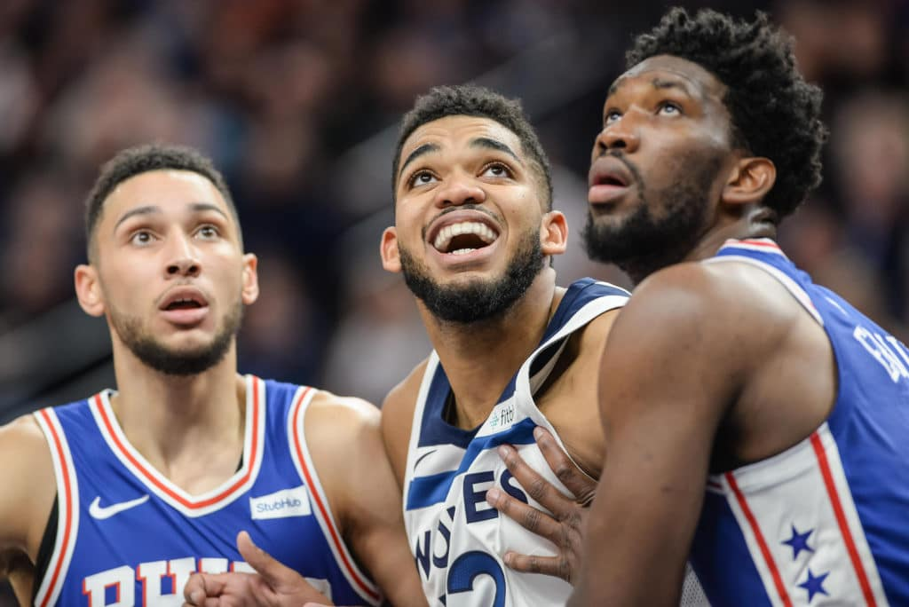 Joel Embiid, Karl-Anthony Towns Trade Jabs On Instagram