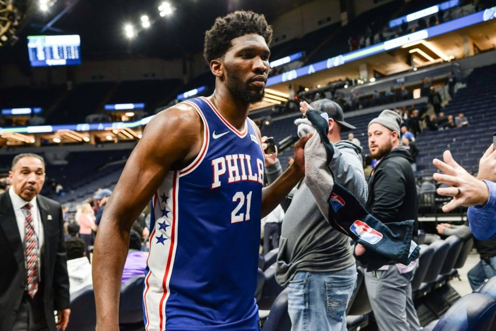 Joel Embiid explains back-and-forth with Karl-Anthony Towns on Instagram