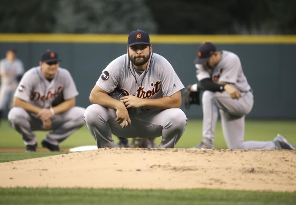Is Ian Kinsler sending a statement to Tigers GM Al Avila?