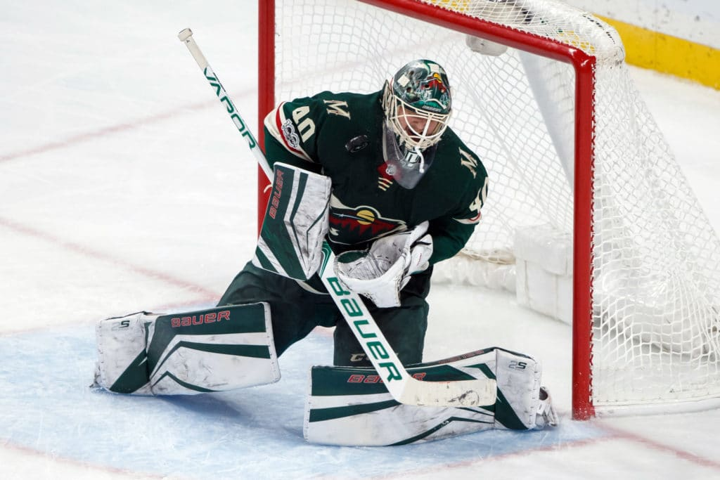 Wild goalie Devan Dubnyk week-to-week with lower-body injury
