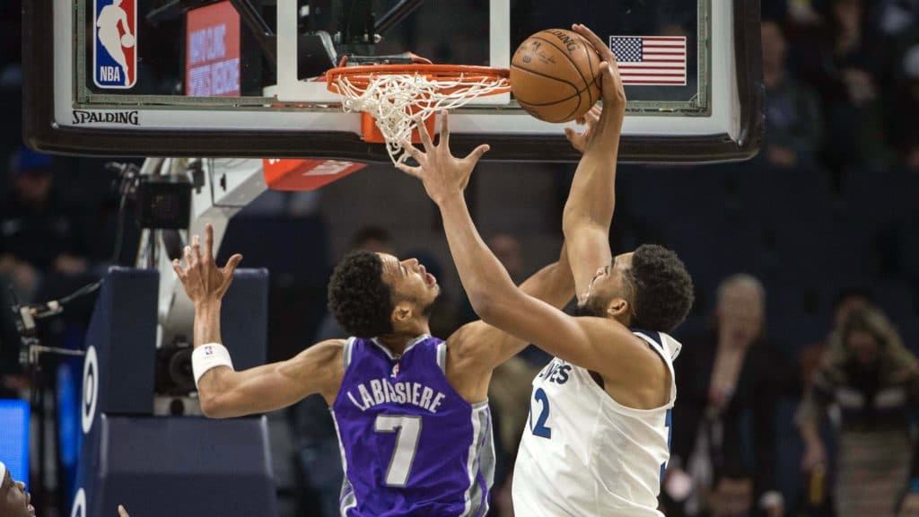 Towns responds MGH gets a run and Wiggins ends slump in Wolves&#039 win over Kings