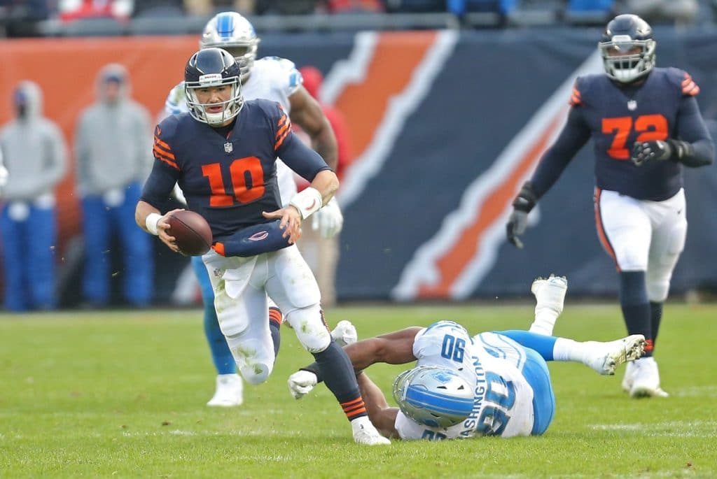 Lions host Bears in rare Saturday game