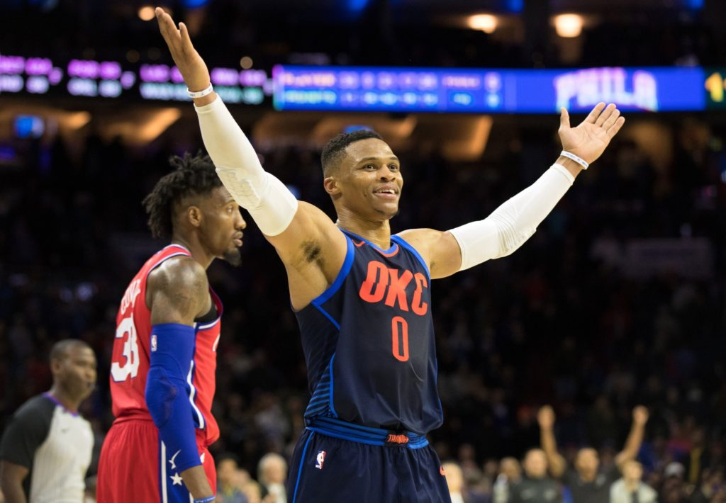 OKC Thunder win triple OT thriller against the Philadelphia 76ers