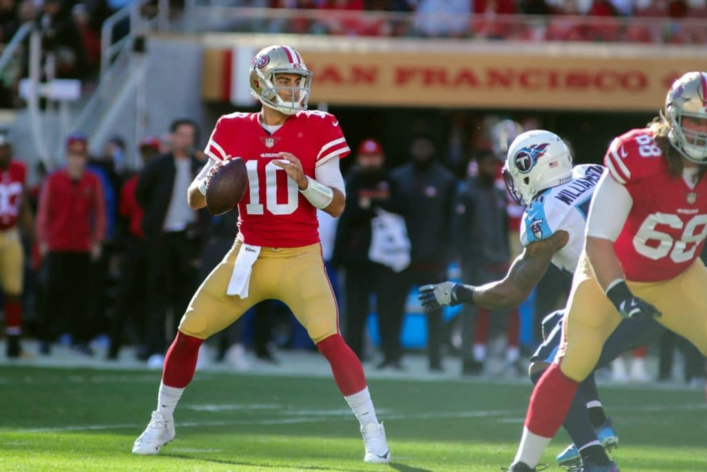 It's Halftime: What's Happened so Far in Titans-49ers
