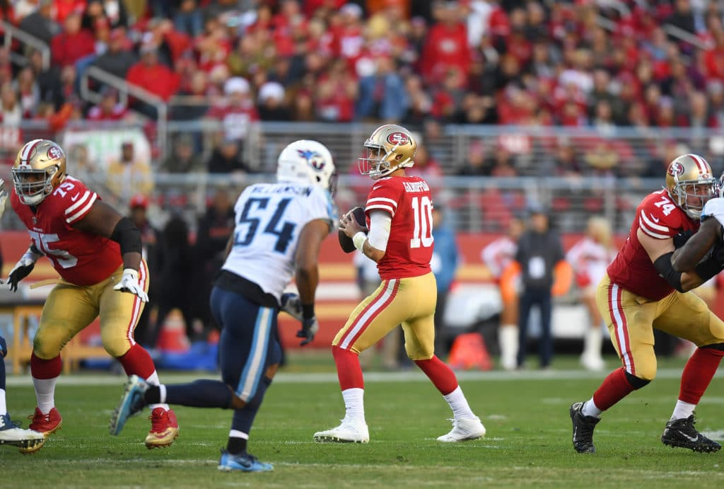 Jimmy Garoppolo Displays Some Impressive Leadership Skills While Mic'd Up