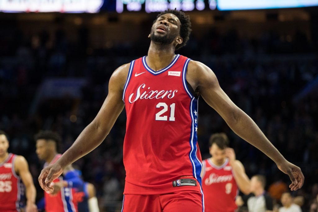 Joel Embiid expected back by Christmas
