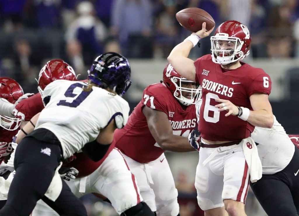 Baker Mayfield accepts invitation to Senior Bowl