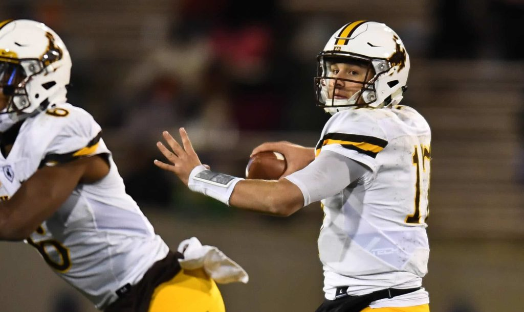 All Eyes Are On Wyoming's Josh Allen