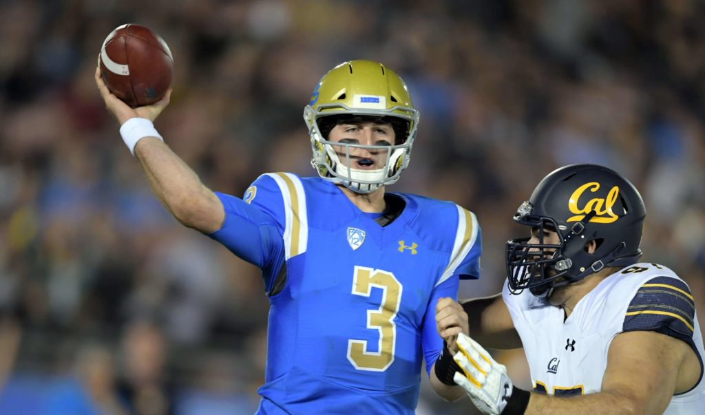 Notebook: UCLA's Rosen isn't high on the Browns