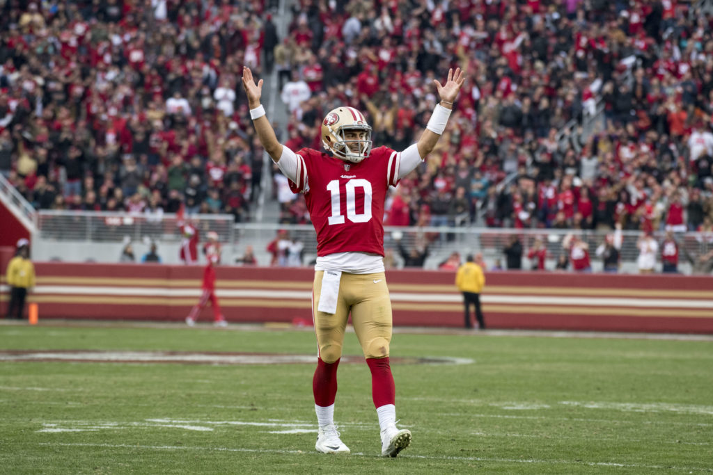 Report card: Garoppolo, 49ers roll over playoff-bound Jags