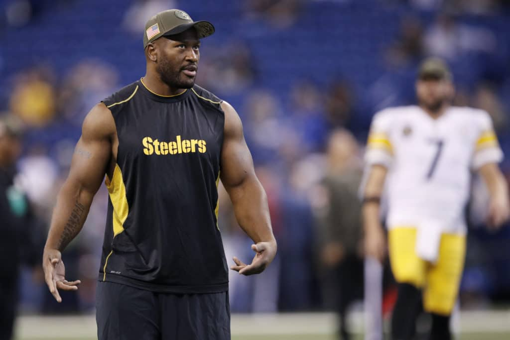 James Harrison painted as a bad teammate who forced his way out of Pittsburgh