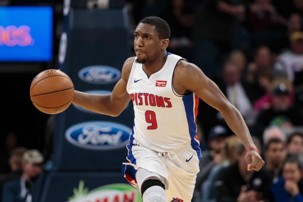 Pistons lose Jackson to ankle injury