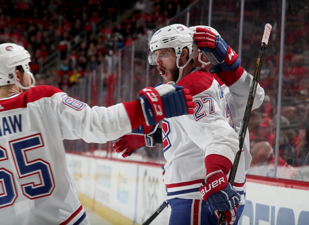 Carolina Hurricanes vs. Montreal Canadiens - 12/27/17 NHL Pick, Odds, and Prediction