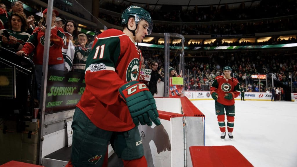 Wild's Parise cleared to make season debut Tuesday