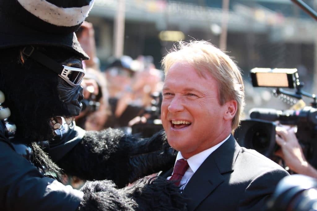 Jon Gruden To Be Introduced As Raiders Head Coach Next Week