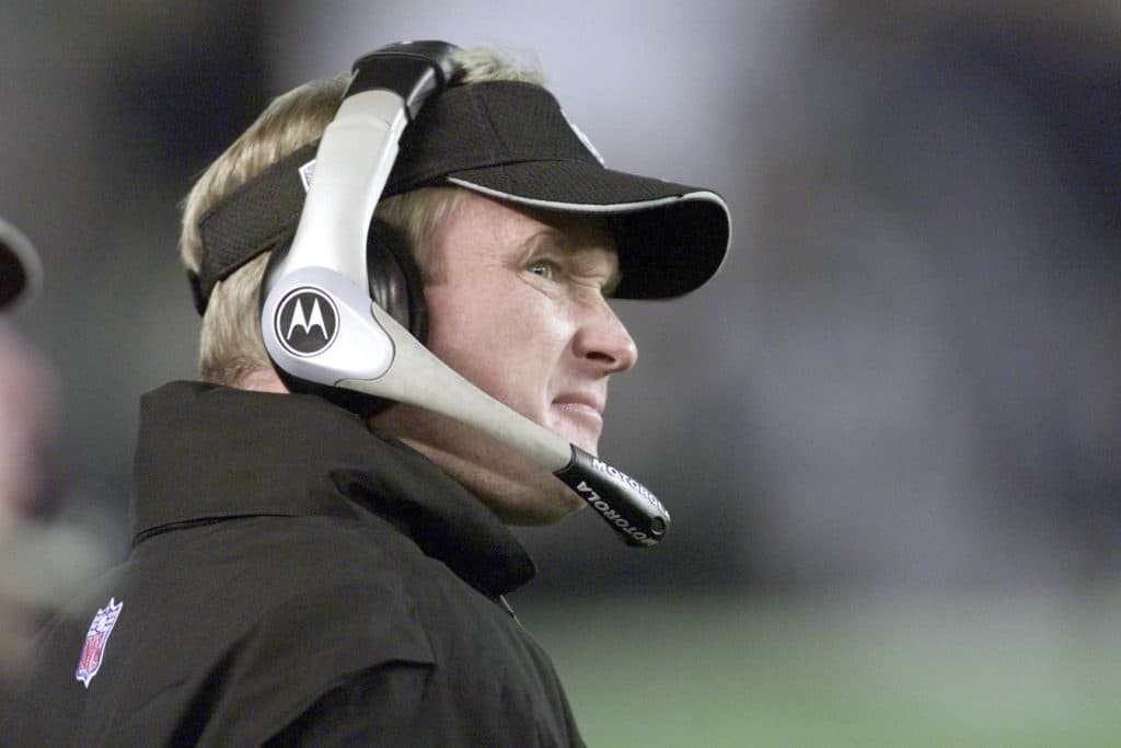 Jon Gruden Says Tuck Rule Still Irks Him; Raiders Have 'Unfinished Business'