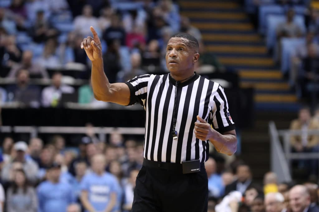Referee who shunned UNC's Joel Berry now considering retirement due to incident