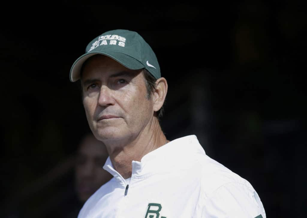 Former Baylor coach Art Briles to speak at upcoming AFCA convention
