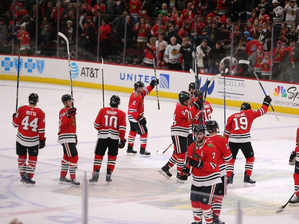 Anton Forsberg gets call in goal for Blackhawks against Senators