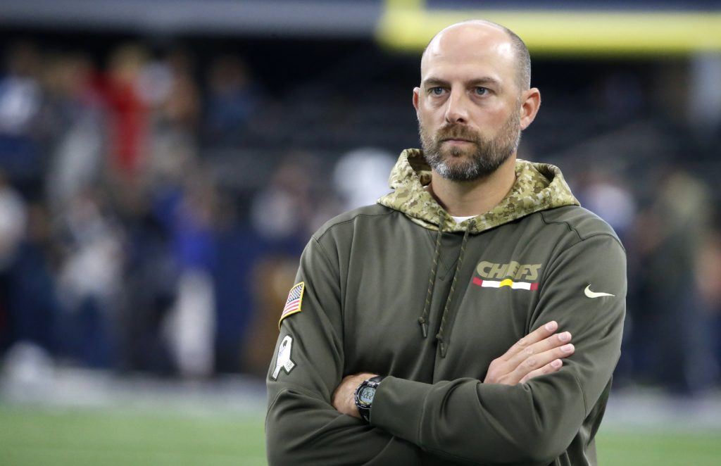 Bears Name Chiefs OC Matt Nagy Head Coach