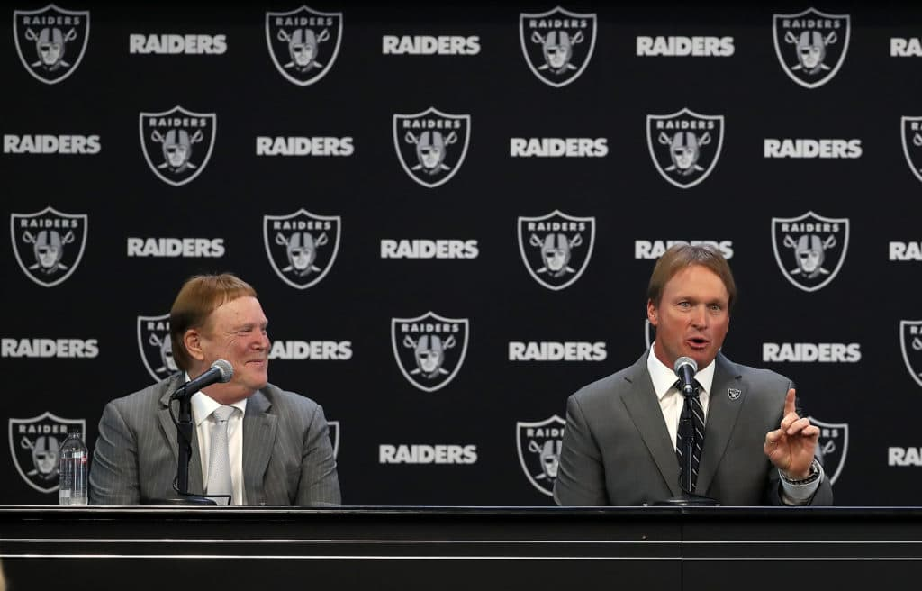 Raiders owner on Jon Gruden hire: It's a big f'ing deal