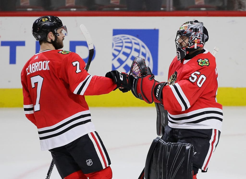 Blackhawks reportedly concerned Corey Crawford could miss rest of season
