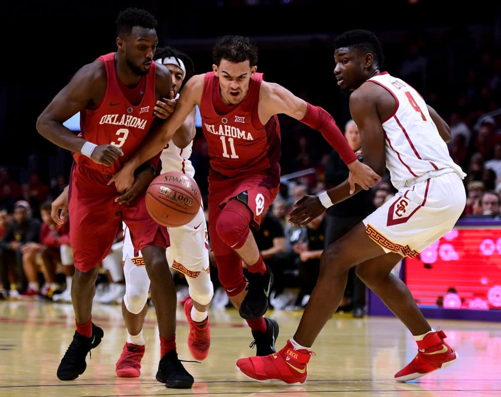 Trae Young dazzles to cap Oklahoma comeback over KU