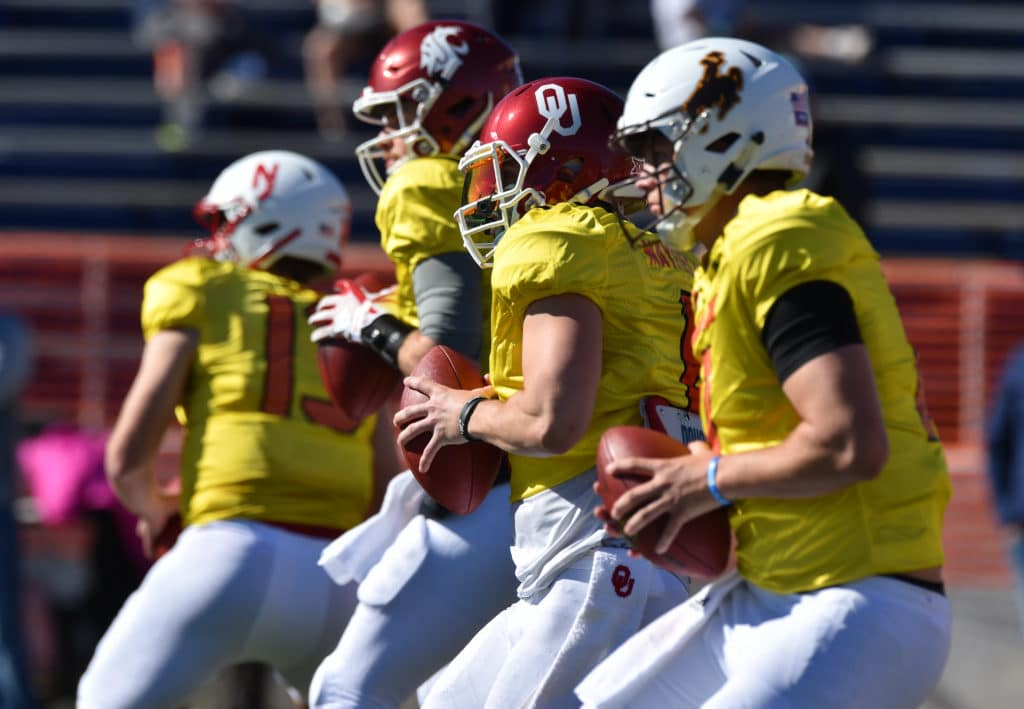 Best QBs, NFL draft risers, more from Day 1 at Senior Bowl
