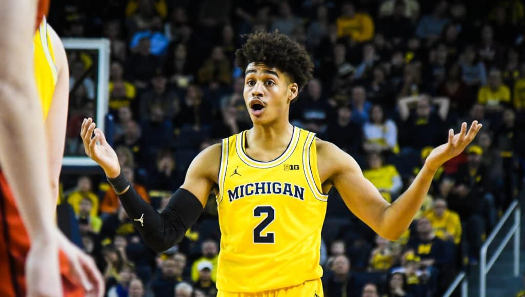 Jordan Poole Is Michigans Loudest Silent Killer