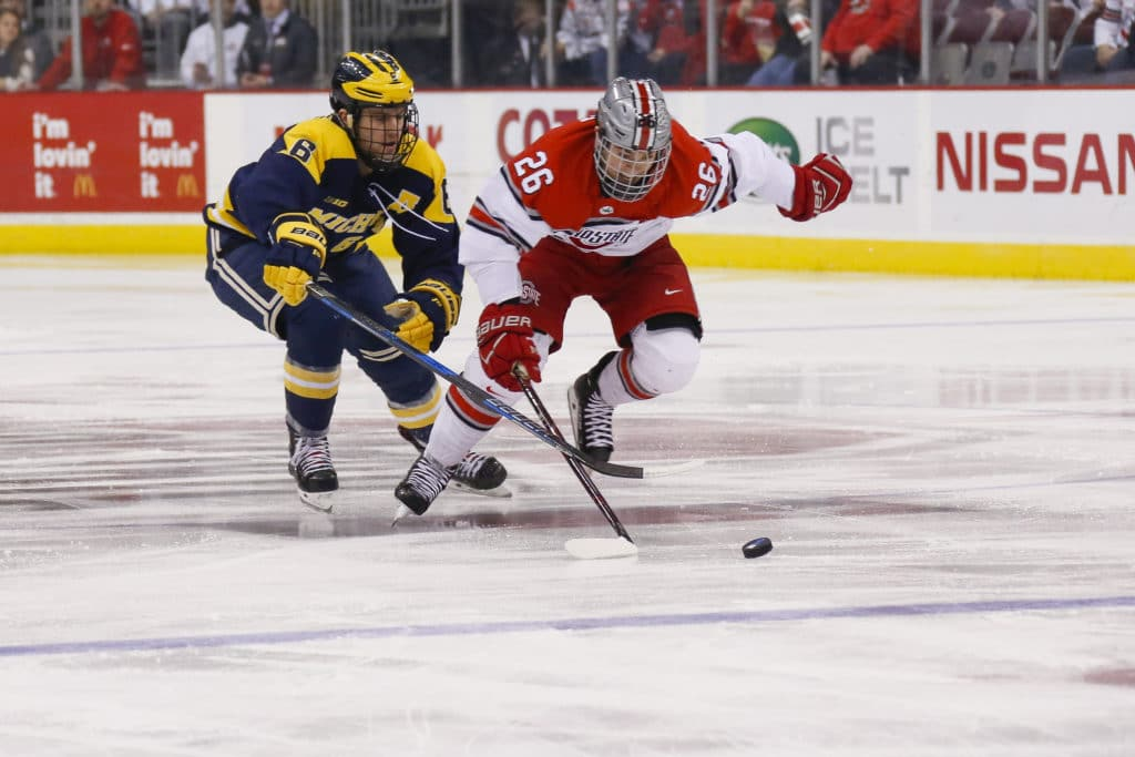 Ranked Wisconsin women's hockey team falls 1-0 at Ohio State