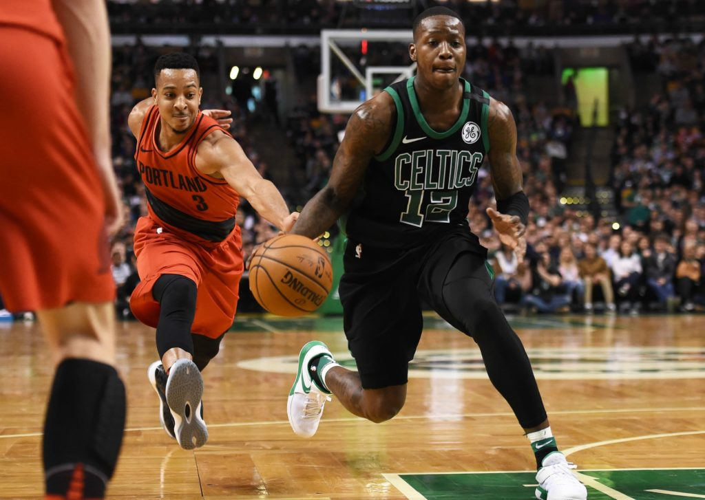 Terry Rozier's Adidas deal got terminated for wearing Nikes during shootaround