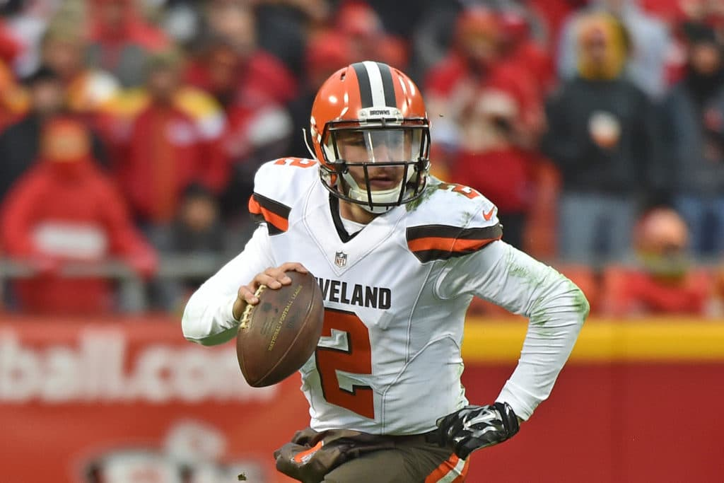 Johnny Manziel Back in the Pros