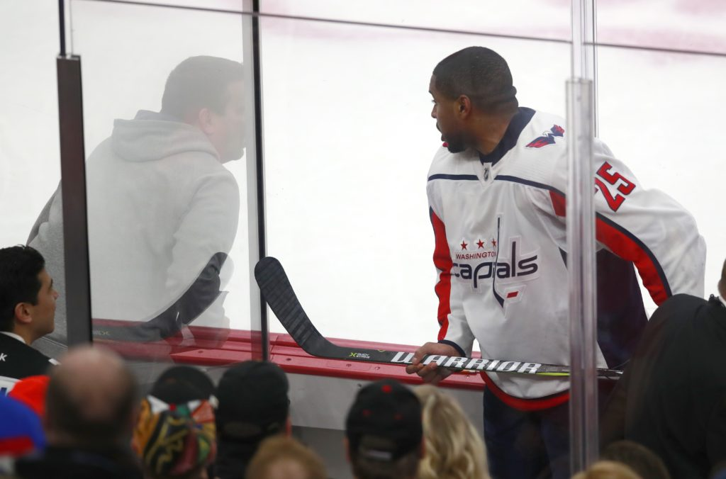 Blackhawks fans kicked out over racist taunts toward player