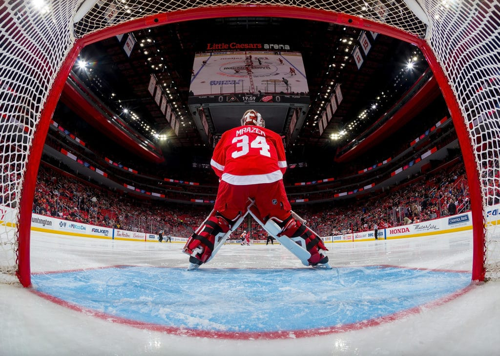 Red Wings Trade Goalie Petr Mrazek to Flyers