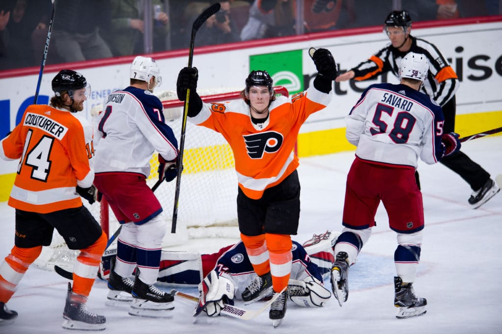 Patrick, Mrazek Lead Flyers to 4th Straight Win