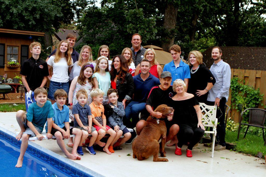 The Hendrickson family (Courtesy Dan