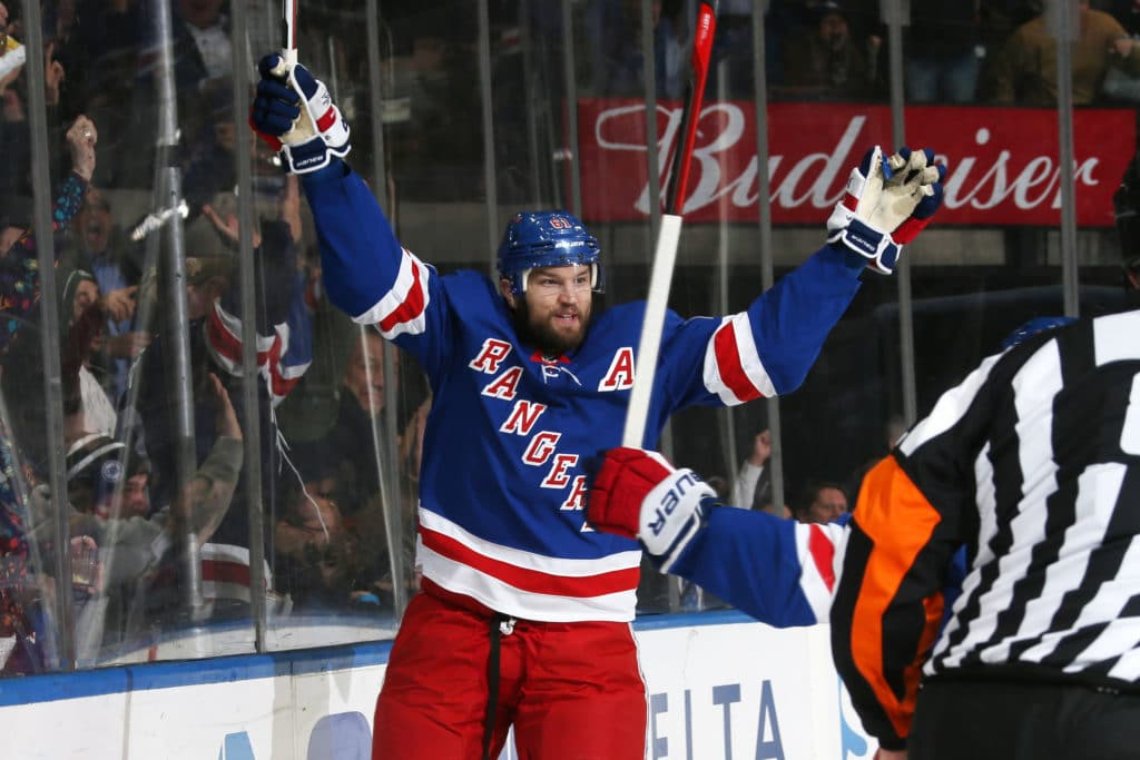 Rangers say goodbye to Nash and a bittersweet era
