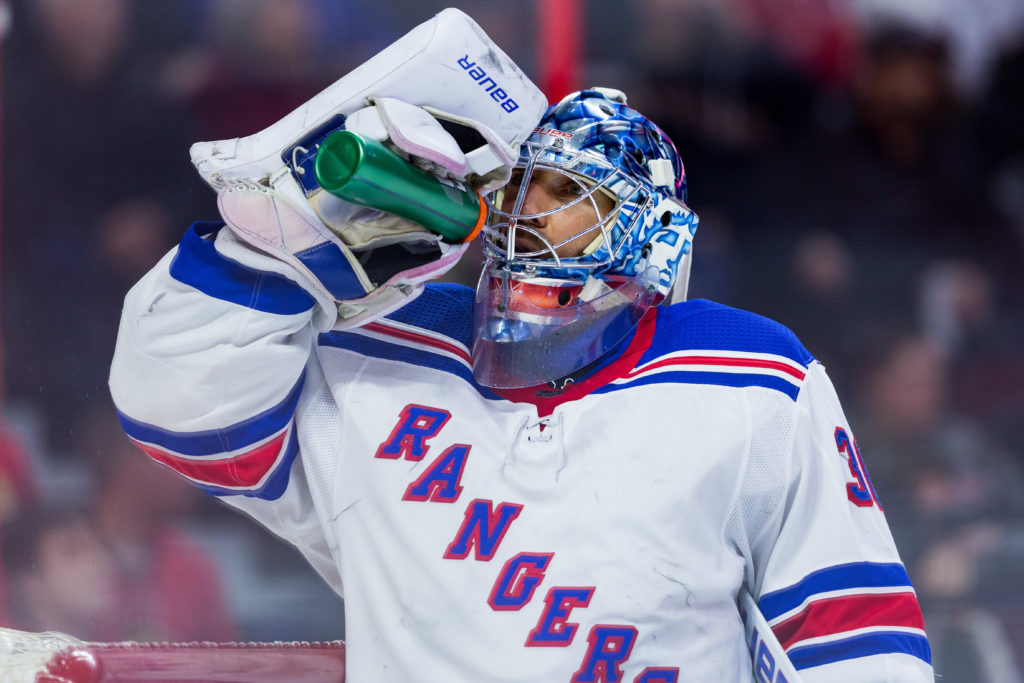 Rangers offered to trade G Lundqvist in February