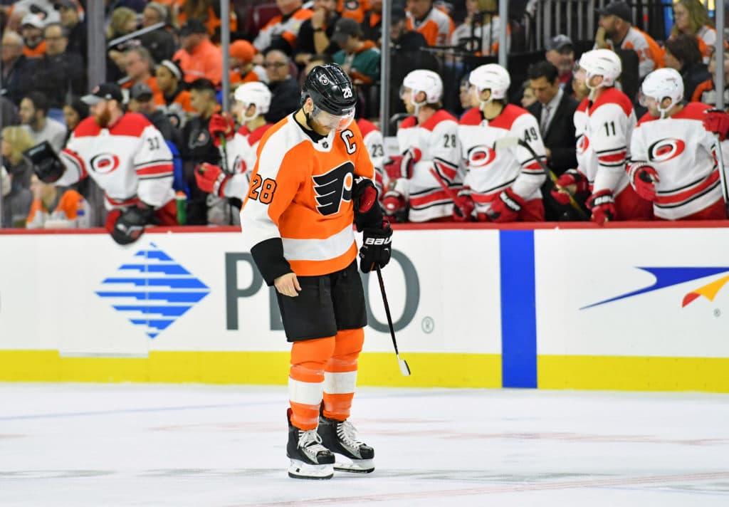 Flyers falter as hot streak ends vs. Hurricanes