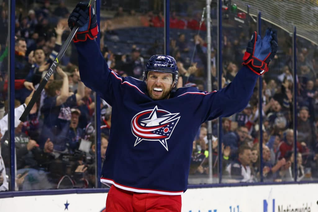 Highlights: Bobrovsky Makes Key Save Late as Blue Jackets Win